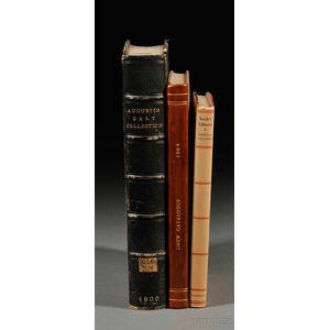 Book Catalogs, Twelve Volumes: