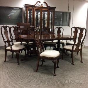 Heirloom Heritage Colonial-style Mahogany Dining Room Set
