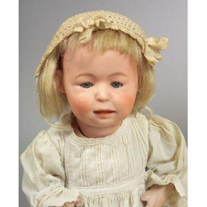 Bisque Head Character Baby 8682