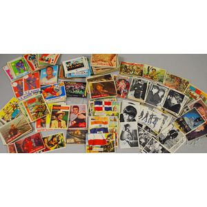 Approximately 320 Entertainment and Sports Trading Cards