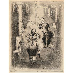 Marc Chagall (Russian/French, 1887-1985)      Á l