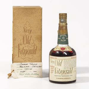 Very Old Fitzgerald 8 Years Old 1956, 1 4/5 quart bottle (oc)