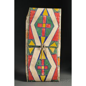 Plains/Plateau Painted Parfleche Envelope