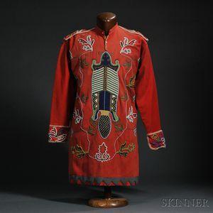 Tlingit Beaded Cloth Tunic