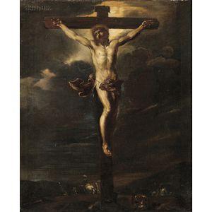 Italian School, 17th Century      Christ on the Cross