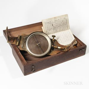 Burt & Watson Vernier Compass and Field Book