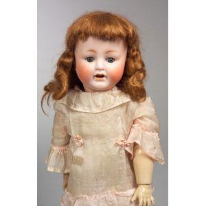ABG 1353 Bisque Head Girl Doll