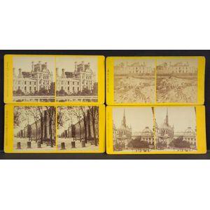Stereoscopic Views of the 1871 Siege of Paris