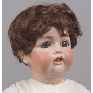 Large Kestner 260 Bisque Head Character Baby Doll