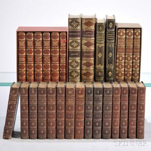Decorative Bindings, Sets, Poetry, Twenty-eight Volumes.