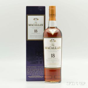 Macallan 18 Years Old, 1 750ml (oc) bottle