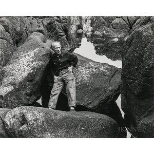 Cole Weston (American, 1919-2003)      Portrait of Edward Weston