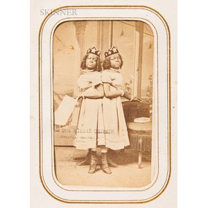 American School, 19th Century      Album of Photographs from the Family of Orrin Freeman (American, 1830-1866)