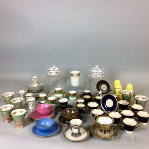 Large Group of Ceramic Teacups and Saucers.     Estimate $20-200