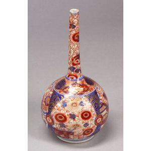 Imari Bottle Vase