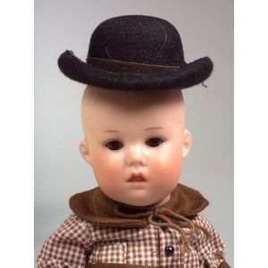 Small GB 251 Bisque Character Baby Doll