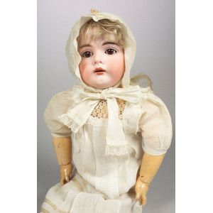 Kestner 164 Bisque Head Girl Doll