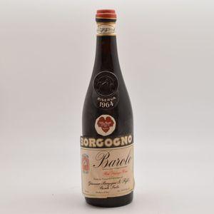 G Borgogno Barolo 1964, 1 bottle