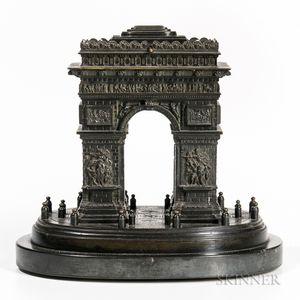 Grand Tour Bronze Arc de Triomphe