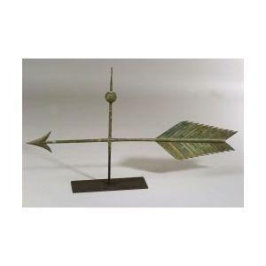 Large Copper Arrow Weather Vane