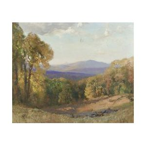Frederick Ballard Williams (American, 1871-1956)  Blue Ridge Mountains, Virginia
