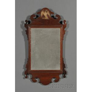 Chippendale Mahogany and Gilt-gesso Mirror,      America, early 19th century