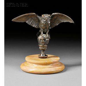 Antoine-Louis Barye (French, 1795-1875)      Hibou [Owl]