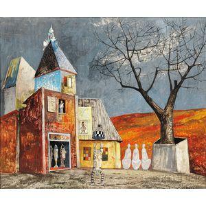 Jesus Villallonga (Canadian, b. 1927)      Countryside of Today