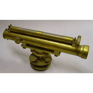 Lacquered-Brass Dumpy Level
