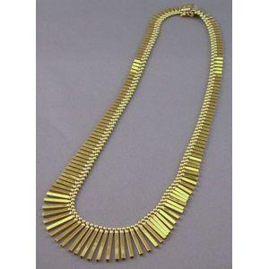 14kt Gold Fringe Necklace