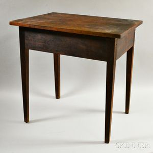 Cherry and Mahogany Side Table