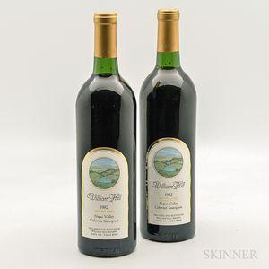 William Hill Cabernet Sauvignon Gold Label 1982, 2 bottles