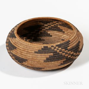 Pomo Basketry Bowl