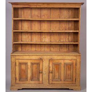Pine Pewter Dresser