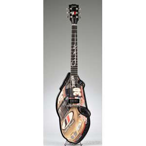 American Electric Guitar, Gibson Musical Instruments, Nashville, 1999, Model   Jimmy Dean Nascar