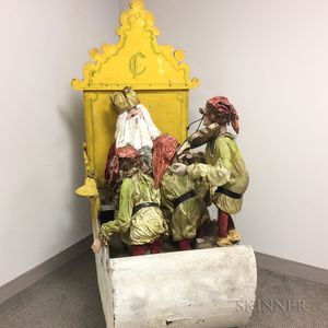 Santa Claus Storefront Automaton