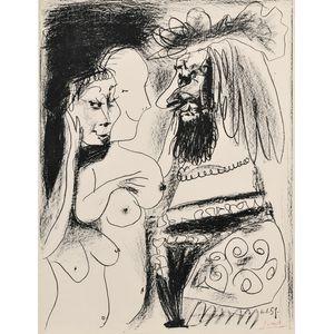 Pablo Picasso (Spanish, 1881-1973)      La vieux roi