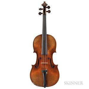 Italian Composite Violin, Ascribed to Pietro Giovanni Mantegazza
