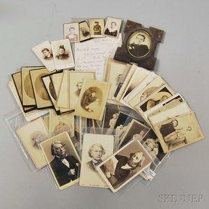 Group of Assorted Cartes-de-visite