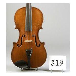 German Violin, Wilhelm Durrschmidt, Markneukirchen, c. 1925