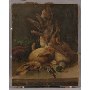 Attributed to Gustav Ranzoni (Austrian, 1826-1900)      Still Life with Game