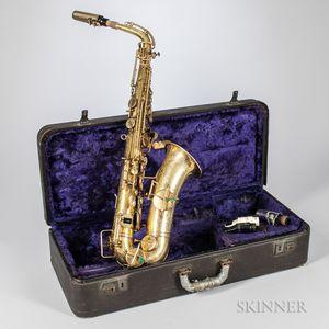 Alto Saxophone, Buescher Aristocrat, 1934