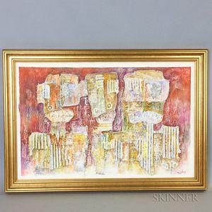 Hussein Madi Abstract Artwork