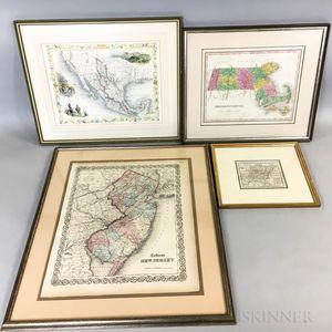 Four Framed Maps
