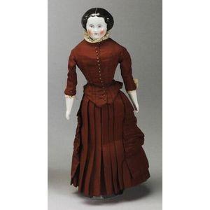 China Shoulder Head Lady Doll