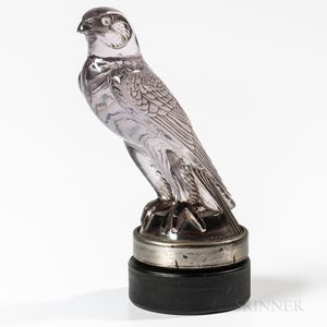 "Rene Lalique ""Faucon"" Car Mascot"