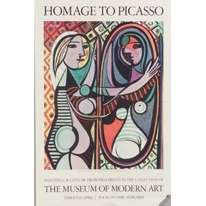 Homage to Picasso, Homage to Picasso/ paintings, sculpture, drawings, prints in the collection of the Museum of Modern Art through Apri
