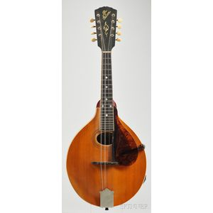 American Mandolin, Gibson Mandolin-Guitar Company, Kalamazoo, c. 1916, Style A3