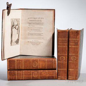 David, François-Anne (1741-1824) Antiquités D