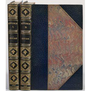 Irving, Washington (1783-1859) Astoria, or Anecdotes of an Enterprise beyond the Rocky Mountains.